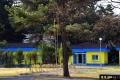 평해연수원 밖에서 바라본 숙소 건물 이미지