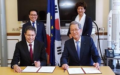 김도연 총장, 佛 국립응용과학원과 MOU